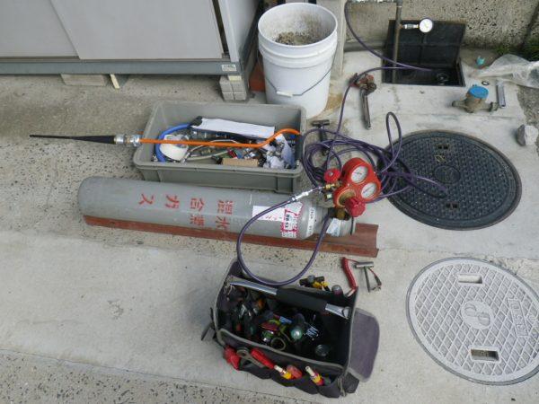 香川県高松市 微量の漏水調査