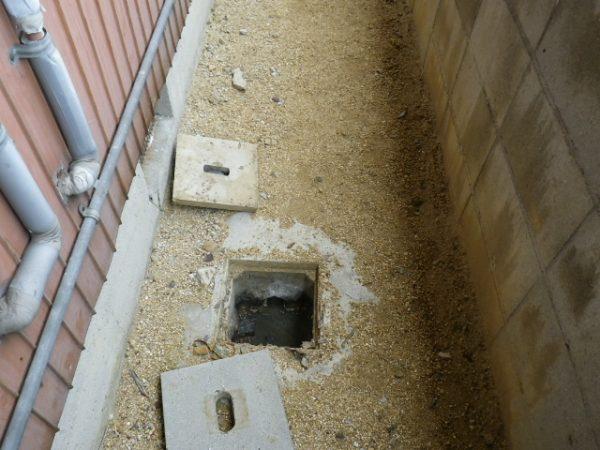 坂出市 排水の水漏れ