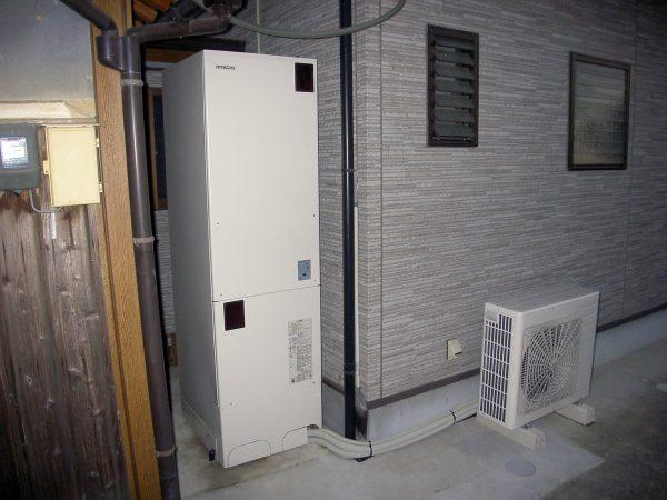 丸亀市 電気温水器 交換