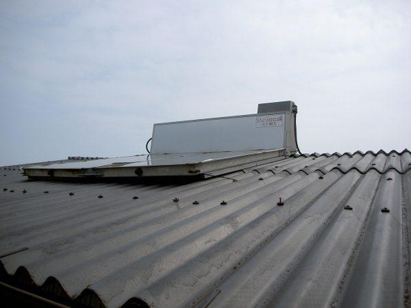 丸亀市 太陽熱温水器 取替