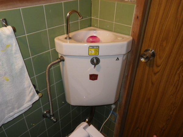 丸亀市 トイレタンクの交換
