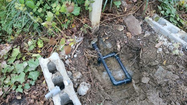 三豊市 1200坪の敷地での漏水調査
