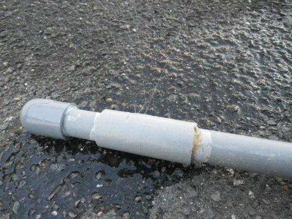 善通寺市内の倉庫で漏水箇所特定