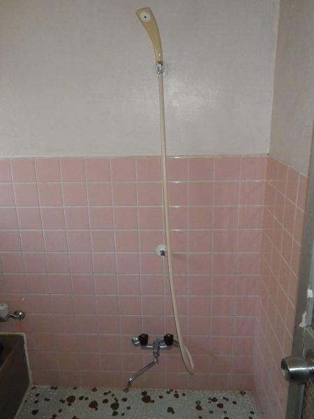 やけど防止のシャワー水栓に取替
