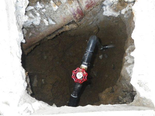 三豊市内で漏水箇所を3ヶ所発見
