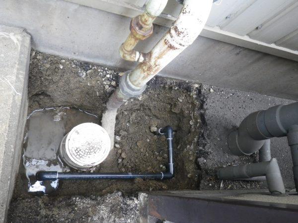 坂出市内 工場内の漏水調査及び修理完了