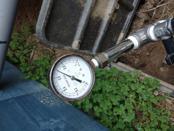 高松市内 水圧の高い地域で漏水調査及び修理