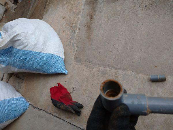 高松市内で漏水調査及び修理完了