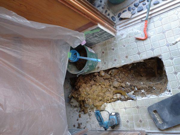琴平町内で漏水調査を行い修理完了