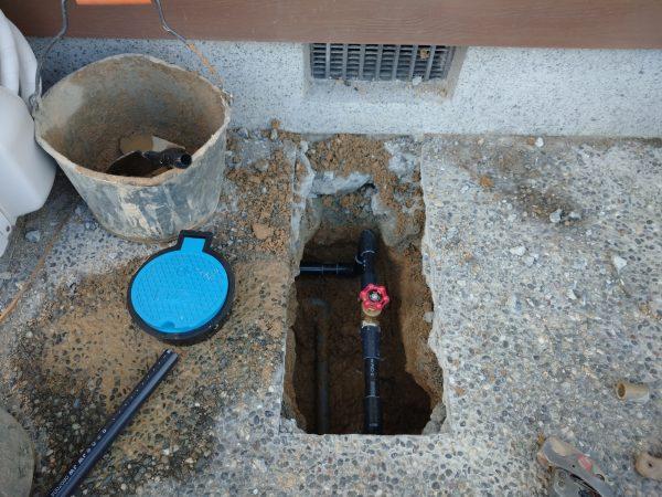 観音寺市内で漏水調査を行い修理完了