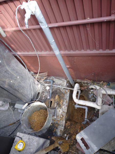 東かがわ市内の住宅兼店舗で漏水調査を行い修理完了!!
