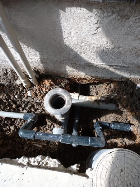 坂出市内で漏水箇所を特定して修理完了