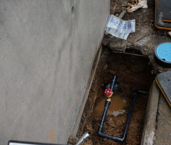 善通寺市内の店舗で漏水箇所をピンポイント特定!!