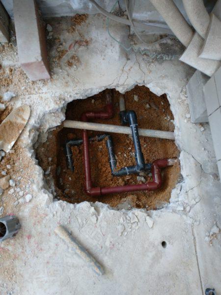 善通寺市内で他社でも見つからなかった漏水調査を行い2か所特定!!