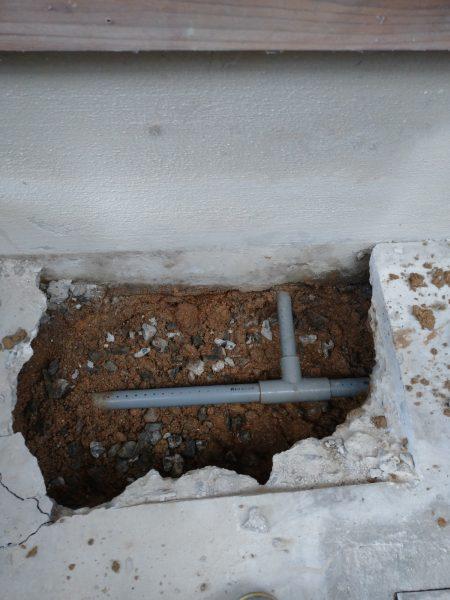 善通寺市内で漏水箇所を2か所特定